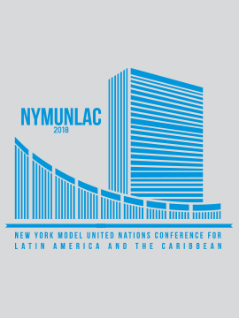 NEW YORK MODEL UNITED NATIONS CONFERENCE  FOR LATIN AMERICA AND THE CARIBBEAN – NYMUNLAC 2018